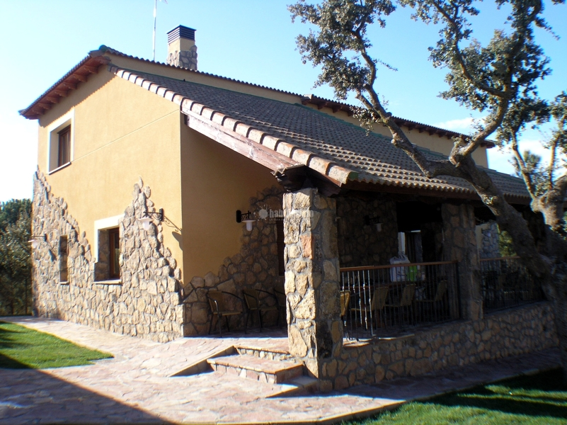 Foto casa rural en vila de alicia bermejo pose - Arquitectos en avila ...