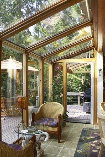 Foto terraza abuhardillada de ana cienfuegos 1104526 - Como hacer un porche barato ...