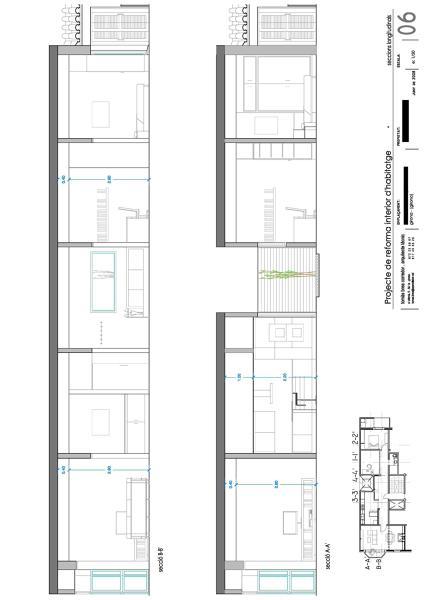 Foto reforma i decoraci interior d 39 habitatge en edifici for Oficina habitatge girona