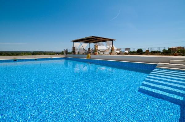 Foto actuar piscina impermeabilizada con liner armado de for Piscinas liner precios