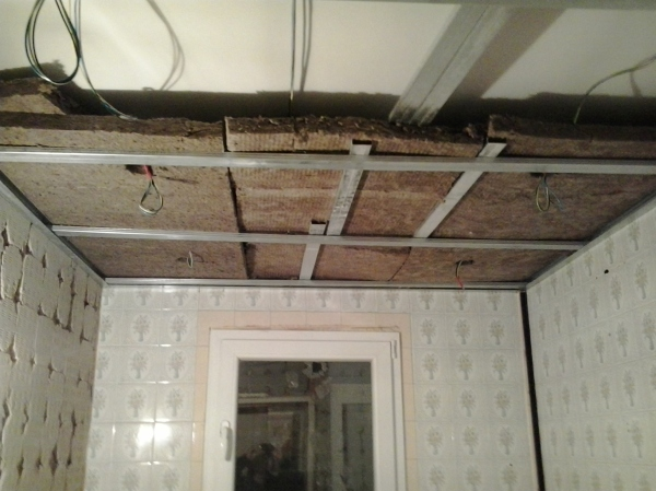 Foto aislamiento de techo y cableado de judevi 1073898 - Aislamiento para techos ...