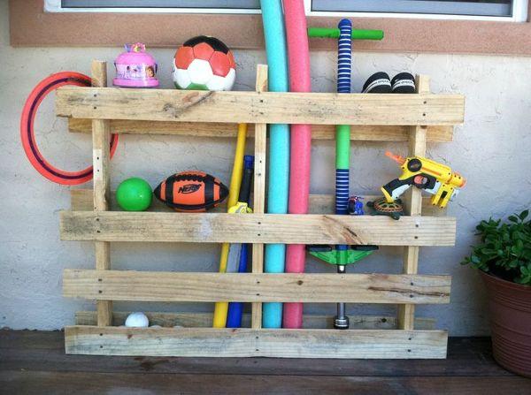 Foto almacenaje juguetes con palets de marta 910597 - Ideas almacenaje juguetes ...