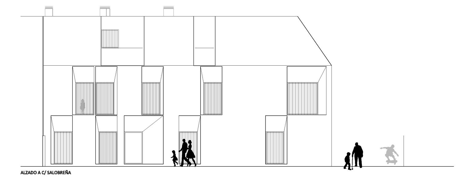 Foto alzado 2 de herrera garrido oficina de arquitectura - Alzado arquitectura ...