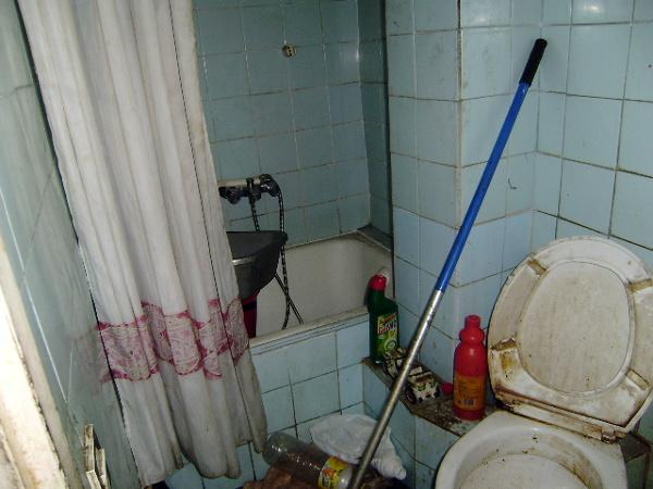 Foto antes limpieza s ndrome de diogenes ba o de - Limpieza banos ...