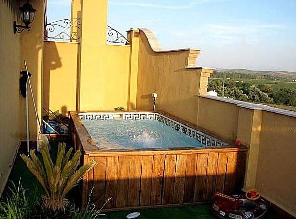 Foto azotea de piscinaslaisla 383859 habitissimo - Minipiscinas para terrazas ...