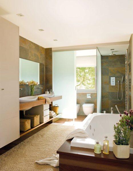 Foto ba o con dos lavabos y ba era de marta 871179 - Banos con dos lavabos ...