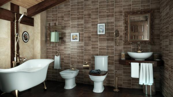 Foto ba o rustico de mhelorza arquitectos 137419 for Accesorios para banos rusticos