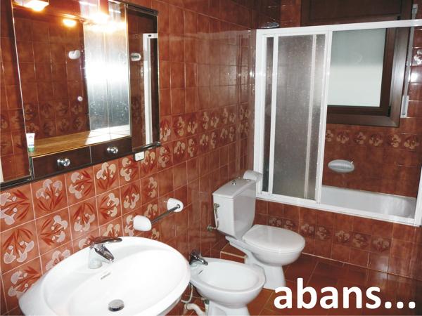 Reforma integral d'un bany