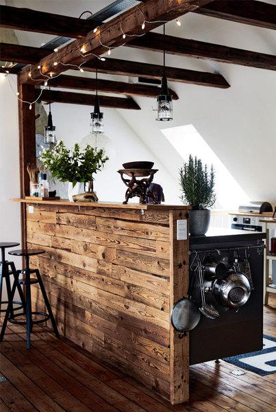 Foto barra bar cocina de miriam mart 1193081 habitissimo - Azulejos rusticos para patios ...