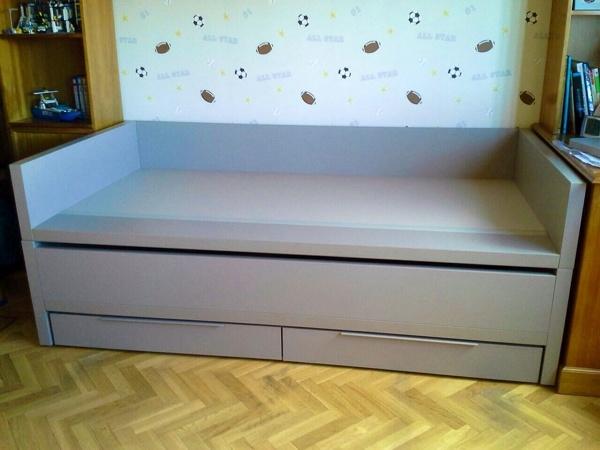 Foto cama cerrada de boronia home 895582 habitissimo for Cama cerrada