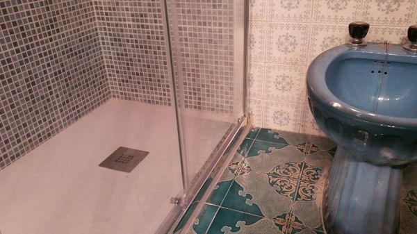 Foto cambio de ba era por plato de ducha para cliente de for Cambiar banera por ducha leroy merlin