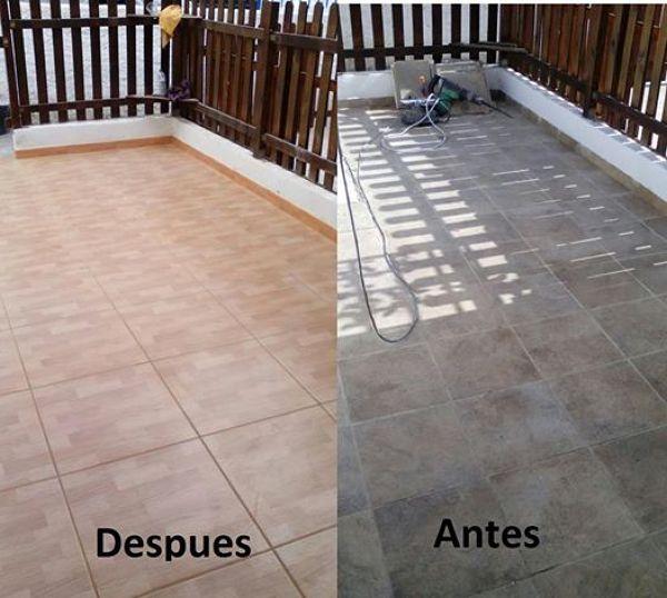 Foto cambio de piso en terraza de multiservicios - Cambio de pisos ...