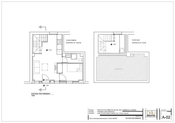 Foto cambio de uso local a vivienda de arquitecto tecnico for Cambio de uso de oficina a vivienda