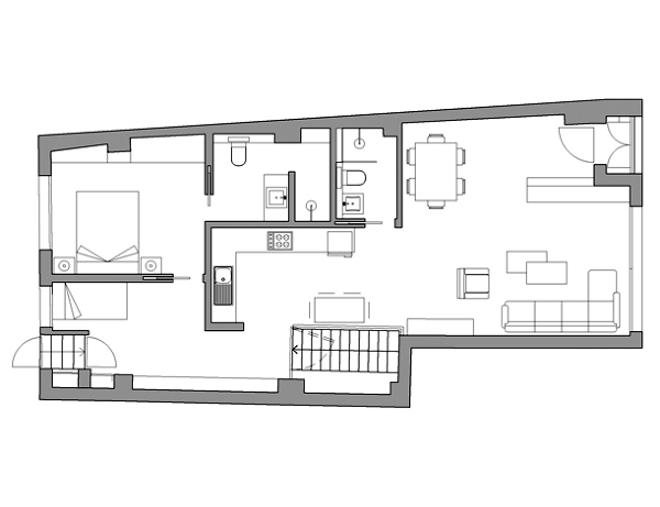 Foto cambio de uso de c2interioristas 202461 habitissimo for Cambio de uso de oficina a vivienda