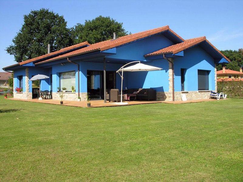 Foto casa azul siero de construcciones benjoal 153122 - Construcciones benjoal ...