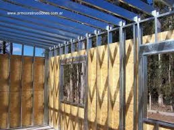 Foto casa con estructura metalica de fabricasas constr - Casas con estructura metalica ...