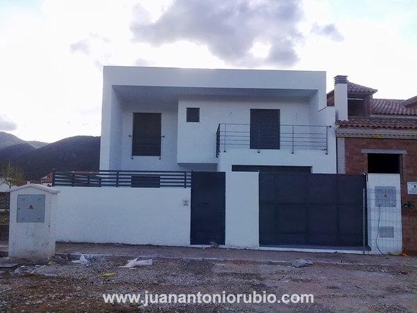 Foto casa con porches 1 de juan antonio rubio arquitecto - Casas con porches ...