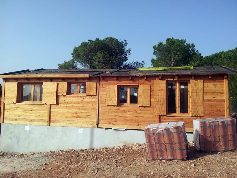 Casa de madera modular ideas construcci n casas - Proyectos de construccion de casas ...