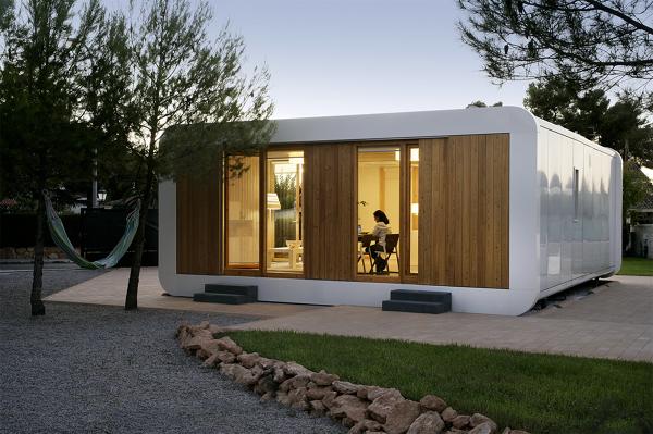 5 casas prefabricadas peque as y f ciles de montar ideas - Presupuesto casas prefabricadas ...