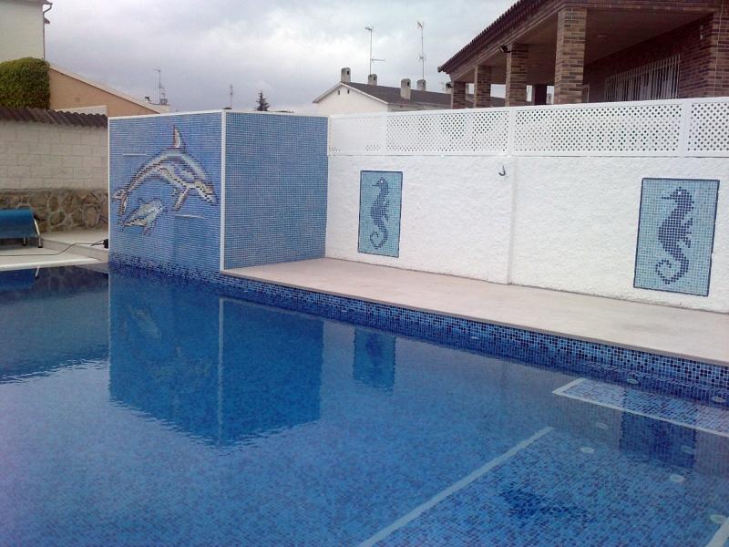 Foto caseta de depuraci n con l minas de agua de piscinas for Precio mantenimiento piscina