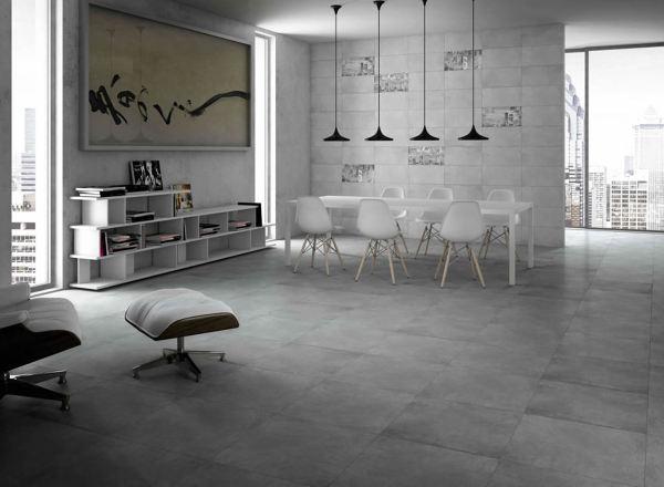 Foto Cement425 Pavimento Gres Moderno Grigio Silver01 1 1024x752 - Pavimentos-modernos