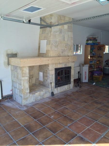 Foto chimenea de le a insertable para la calefacci n por agua de calidax fireplaces 961139 - Calefaccion con chimenea de lena ...