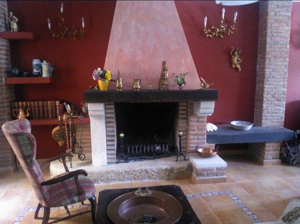 Foto chimenea decorada de arquitecto p barahona 739380 - Chimeneas decoradas ...