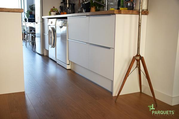 Foto cocina con madera de parquets tropicales 1022828 - Parquets tropicales ...