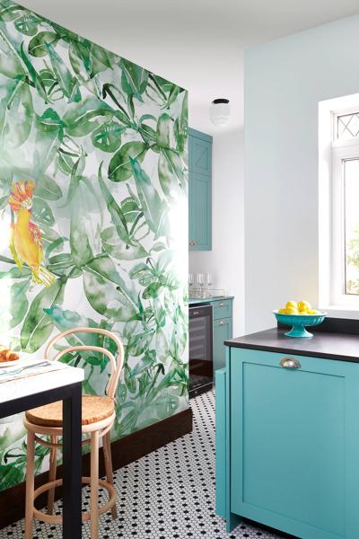 Papel decorativo pared cocina - Papel para paredes de cocina ...