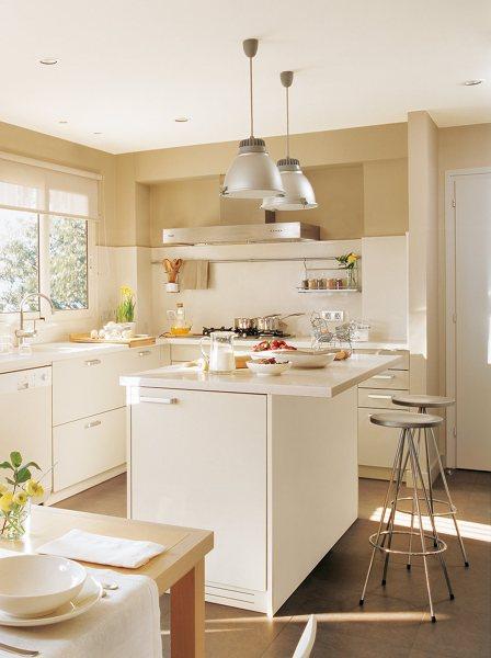 Foto cocina en tonos claros de marta 916425 habitissimo for Habitissimo cocinas