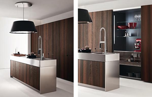 Foto cocina escondida armario de margestudio 889308 - Armario de cocina ...