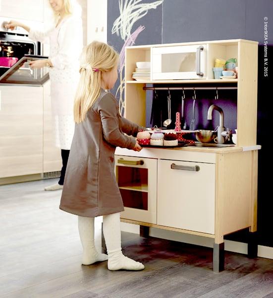 Decorar cuartos con manualidades cocina juguete madera ikea - Cocina madera ikea ...