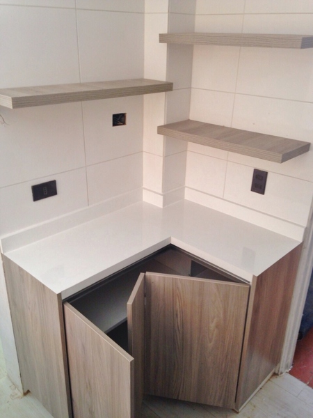 Foto cocina madera clara 7 de cocinas armarios 766470 - Cocinas madera clara ...