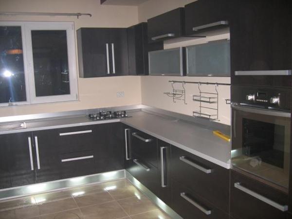 Foto cocina marr n chocolate de l o q u i l o h a 773545 - Cocinas candy ...