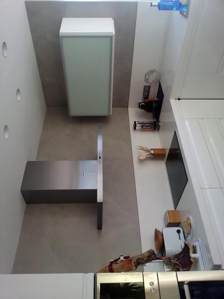 Foto cocina microcemento en castellon de tecnisec 299880 - Cocinas en castellon ...