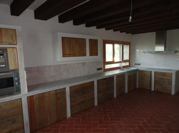 Foto: Cocina Rústica de Muebles De La Granja #782633 - Habitissimo