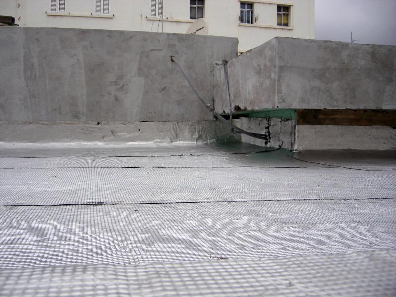 Foto colocaci n de tela asfaltica aluminizada de for Precio mano de obra colocacion tela asfaltica