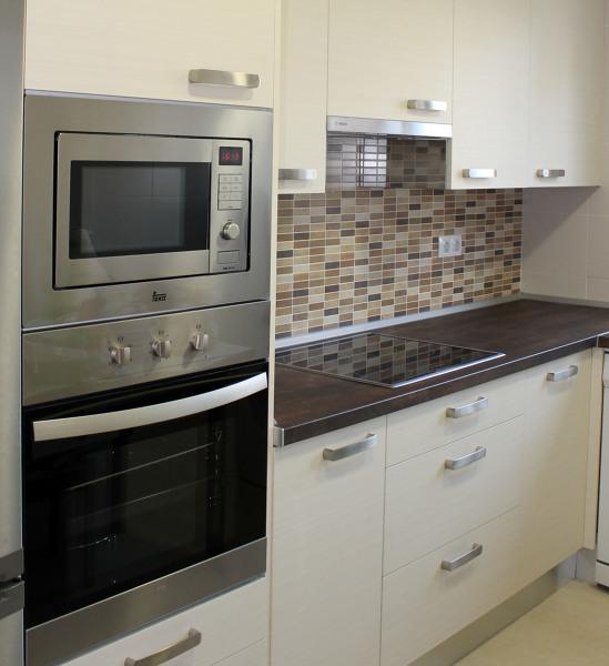 Foto columna horno microondas de sannicola 244321 Muebles de cocina para microondas