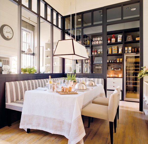 Separa ambientes con paneles y puertas de cristal ideas - Paneles para separar espacios ...
