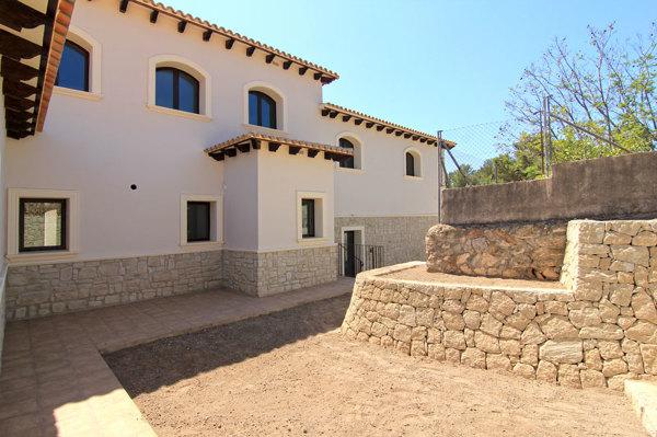 Construcción de casa en Moraira, Alicante