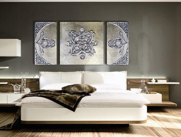 Foto cuadro triptico para dormitorio de estudiodelier - Cuadros de dormitorios ...