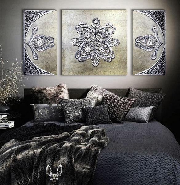 Foto Cuadros Para Dormitorios De Estudiodelier 1205070 Habitissimo - Cuadros-dormitorios
