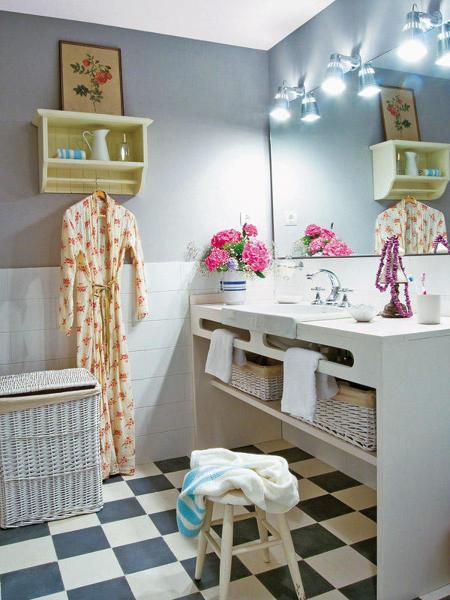 Baños Estilo Ajedrez:Foto: Cuarto de Baño de Mujero de Marta #1123732 – Habitissimo