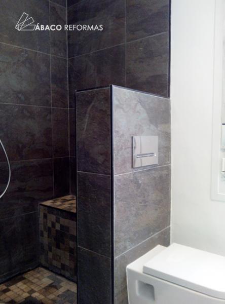 Foto: Cuarto de Baño Principal con Ducha de Obra. de Ábaco ...