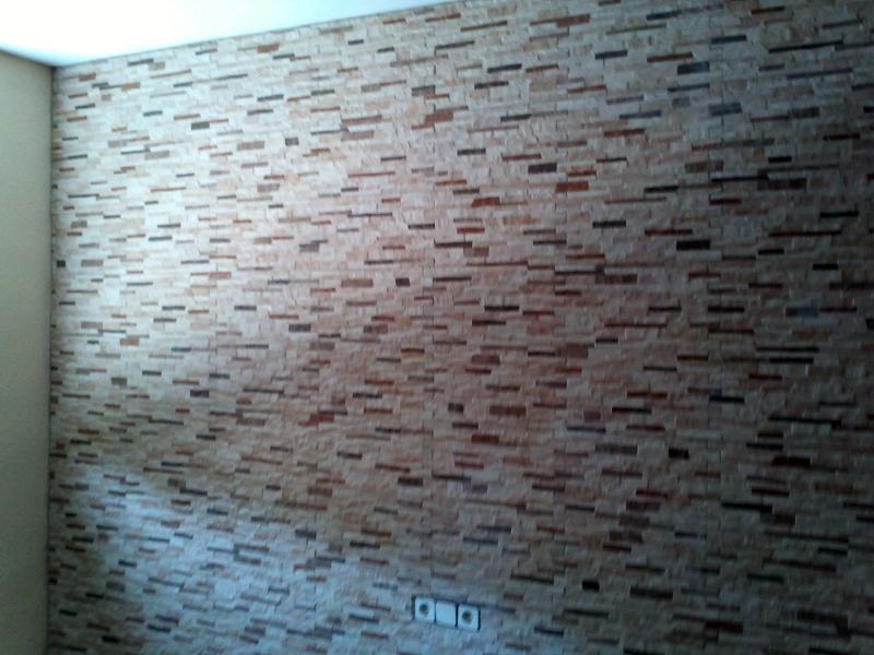 Foto decorar pared con piedra artificial de nov - Paredes de piedra artificial ...