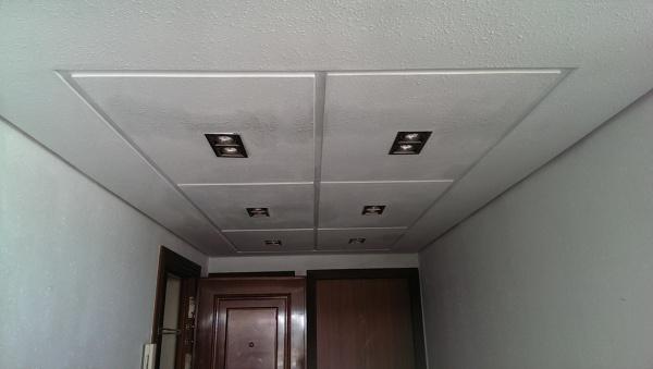 Sustitución de falso techo en Málaga