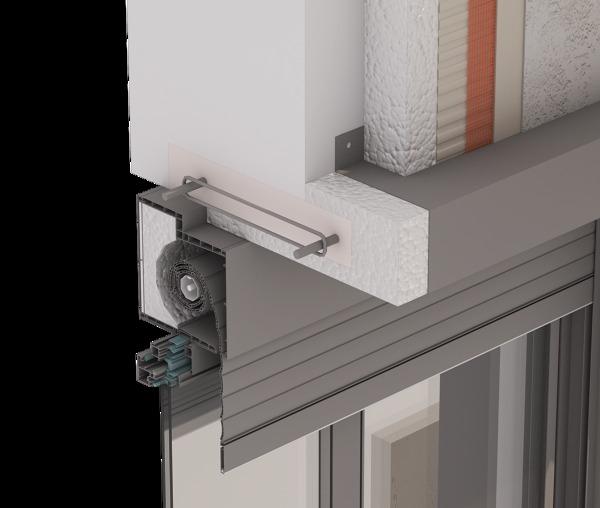 Foto detalle caja de persiana con rotura de puente - Rotura de puente termico ...
