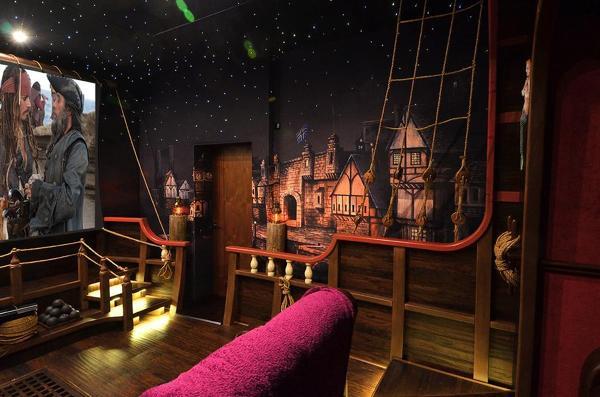 12 cines alucinantes para tener en casa ideas art culos - Realizzare sala cinema in casa ...