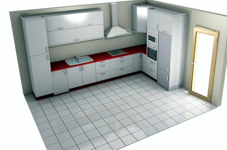 Foto dibujo cocina de casa i cuina 196543 habitissimo for Cocina dibujo