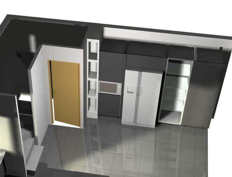 Foto dise o cocina 3d 3 de escudero disseny vilanova i la - Diseno cocina 3d ...